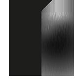 Fini acier inoxydable noir