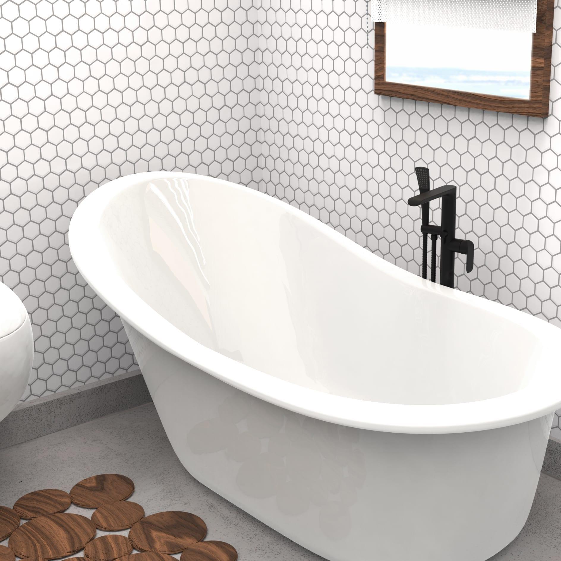 robinet pour baignoire noir mat mod le complet robinet autoportant avec pression quilibr e. Black Bedroom Furniture Sets. Home Design Ideas