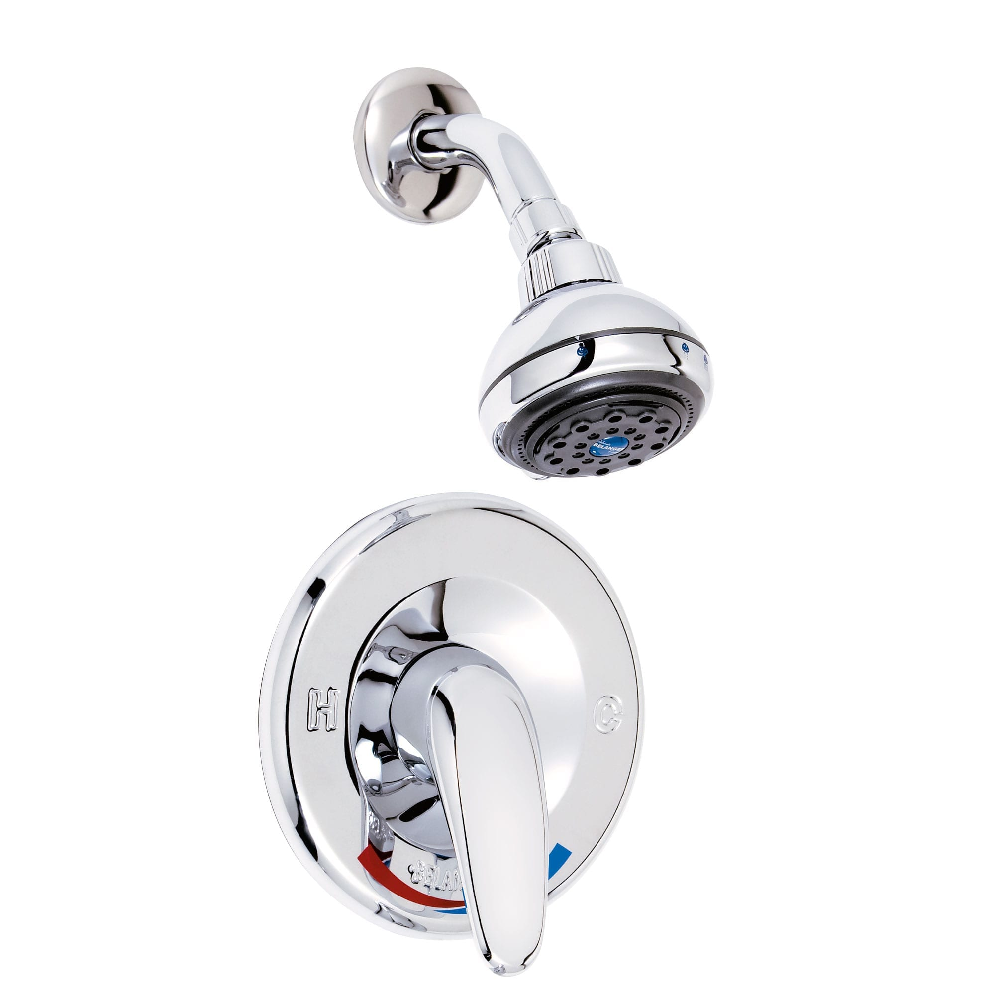 Shower Faucet Complete Model With Pressure Balanced Valve And Volume Control Bélanger Upt