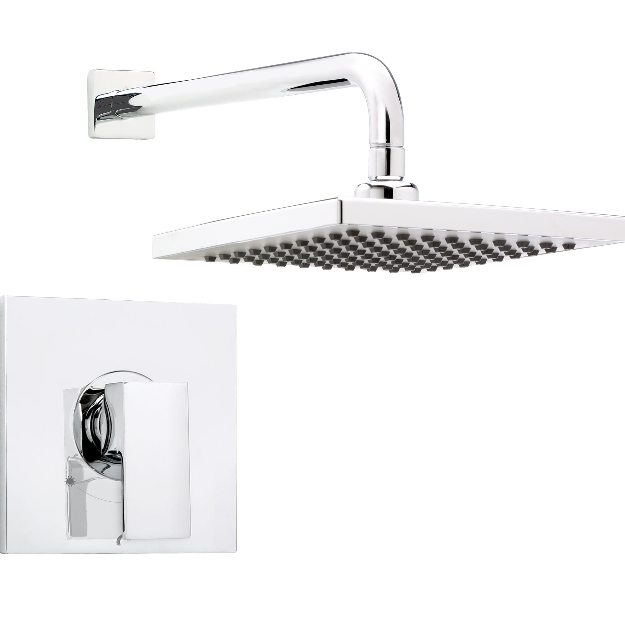 Shower Faucet Trim For Pressure Balanced Valve With Volume Control