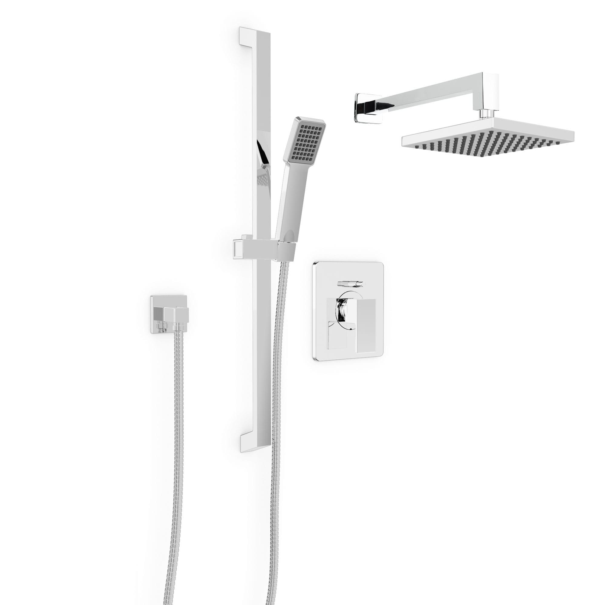 Kit: Shower Faucet   Trim For Pressure Balanced Diverter Valve With Volume  Control   Bélanger UPT