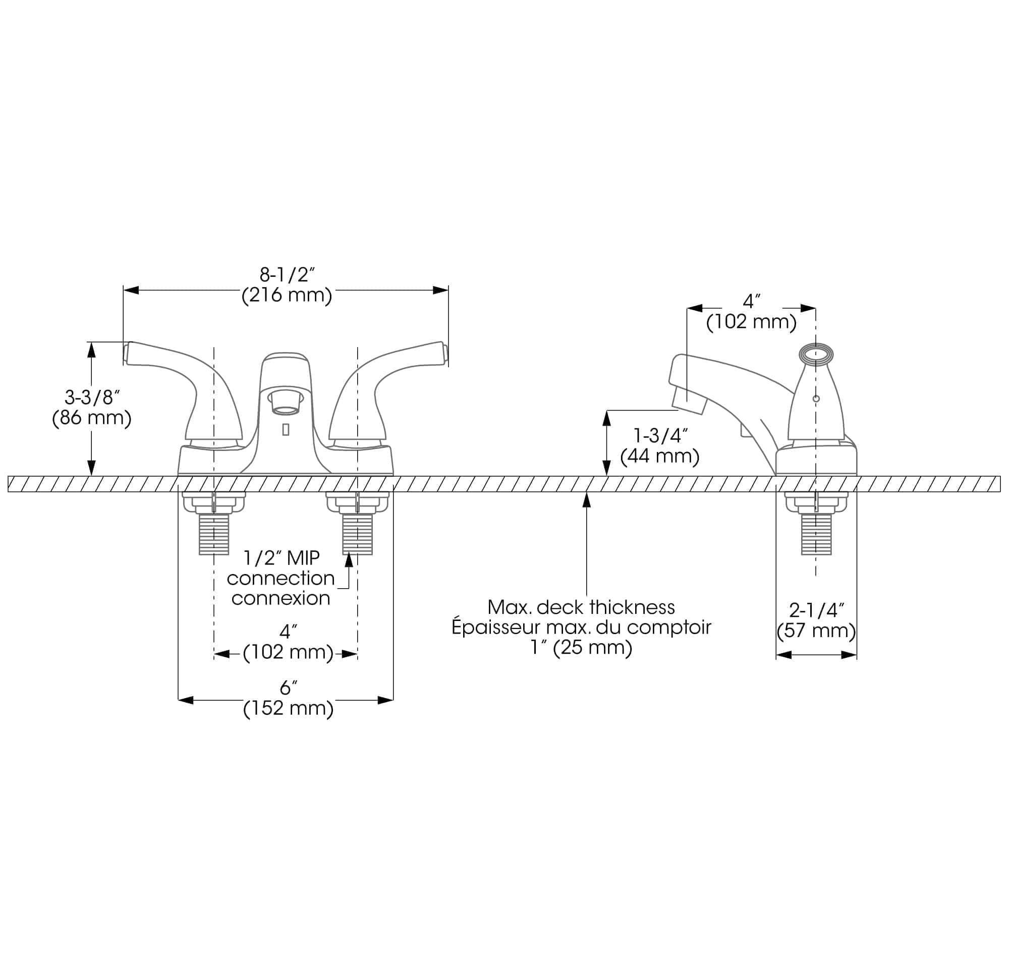 Lavatory Sink Faucet Blanger Upt Automatic Wiring Diagrams Installation And Support